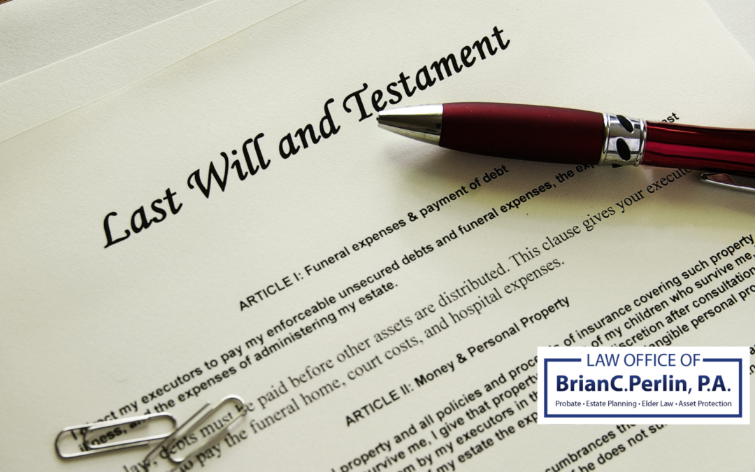 3 Reasons You Cannot Do Without A Last Will and Testament